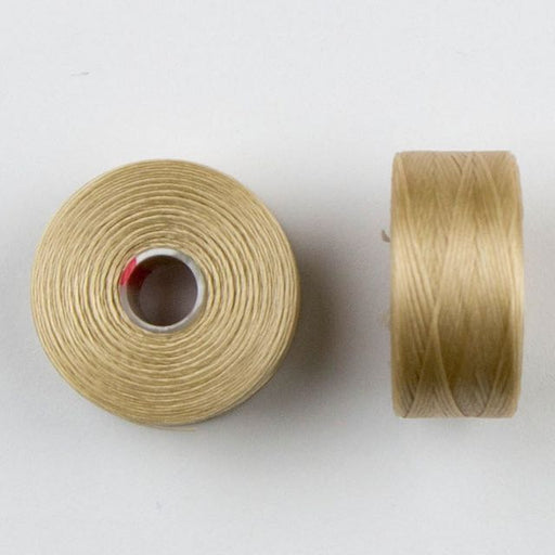 73 meters (79.8 yards) - C-Lon Size D Beading Thread Tex 45 - Beige