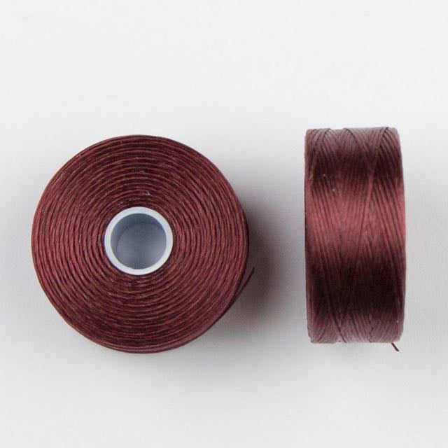 73 meters (79.8 yards) - C-Lon Size D Beading Thread Tex 45 -  Burgundy