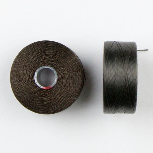73 meters (79.8 yards) - C-Lon Size D Beading Thread Tex 45 -  Charcoal Grey