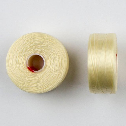 73 meters (79.8 yards) - C-Lon Size D Beading Thread Tex 45 -  Cream