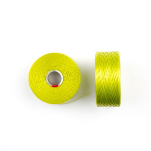 73 meters (79.8 yards) - C-Lon Size D Beading Thread Tex 45 -  Chartreuse