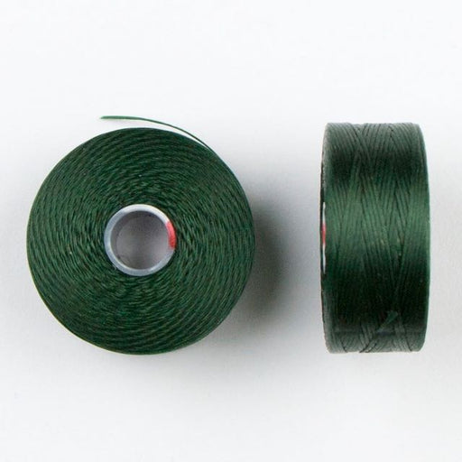 73 meters (79.8 yards) - C-Lon Size D Beading Thread Tex 45 -  Dark Green