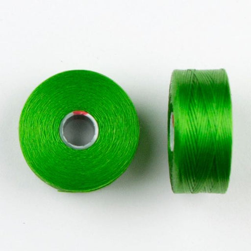 73 meters (79.8 yards) - C-Lon Size D Beading Thread Tex 45 -  Green