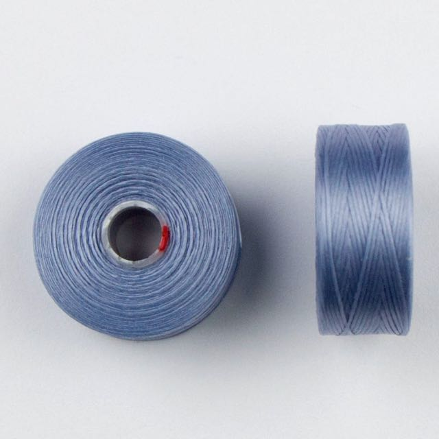 73 meters (79.8 yards) - C-Lon Size D Beading Thread Tex 45 -  Light Blue