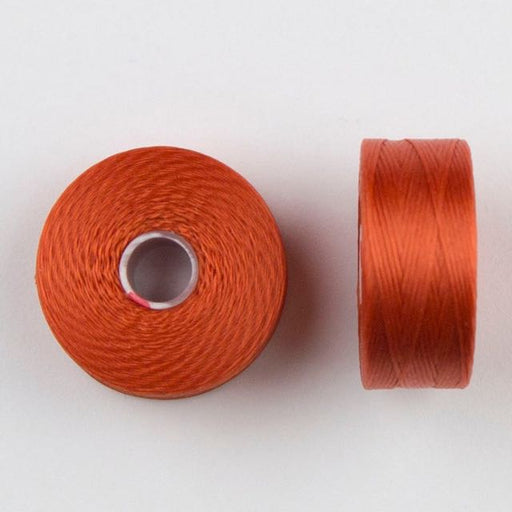 73 meters (79.8 yards) - C-Lon Size D Beading Thread Tex 45 -  Orange
