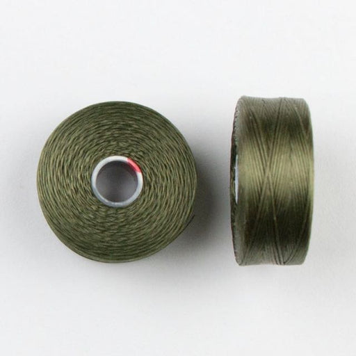 73 meters (79.8 yards) - C-Lon Size D Beading Thread Tex 45 -  Olive