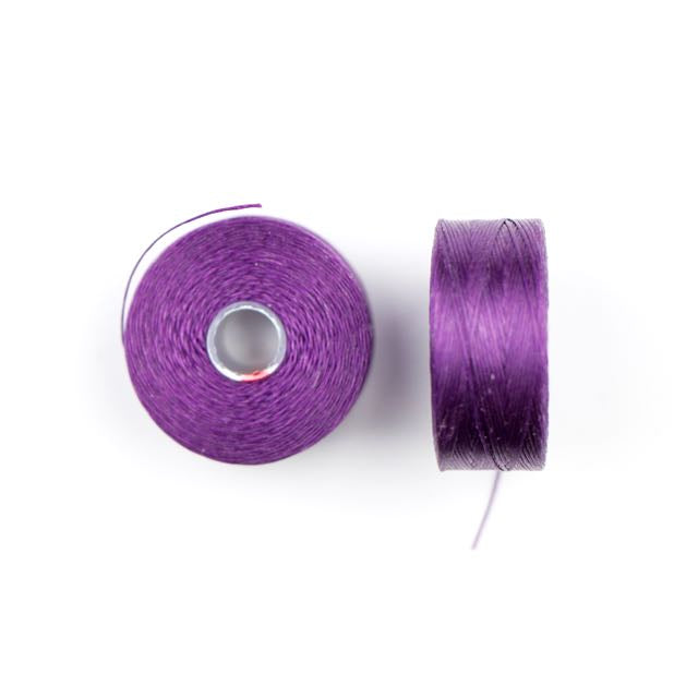 73 meters (79.8 yards) - C-Lon Size D Beading Thread Tex 45 -  Purple