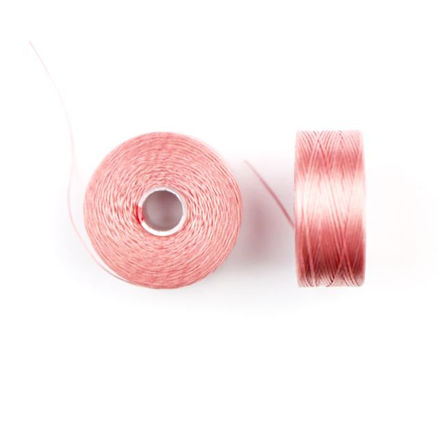 73 meters (79.8 yards) - C-Lon Size D Beading Thread Tex 45 -  Rose