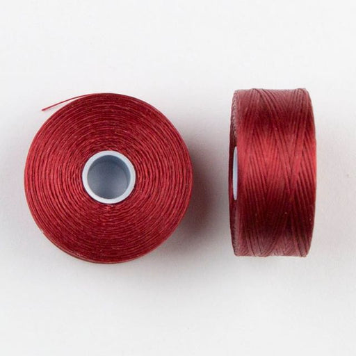 73 meters (79.8 yards) - C-Lon Size D Beading Thread Tex 45 -  Red