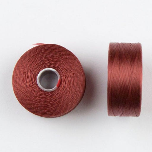 73 meters (79.8 yards) - C-Lon Size D Beading Thread Tex 45 -  Sienna