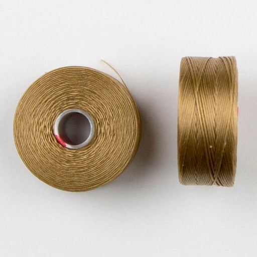 73 meters (79.8 yards) - C-Lon Size D Beading Thread Tex 45 -  Tan