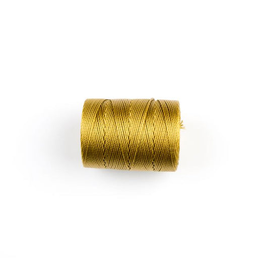 84 meters (92 yards) - C-Lon Beading Cord Tex 210 - Antique Gold
