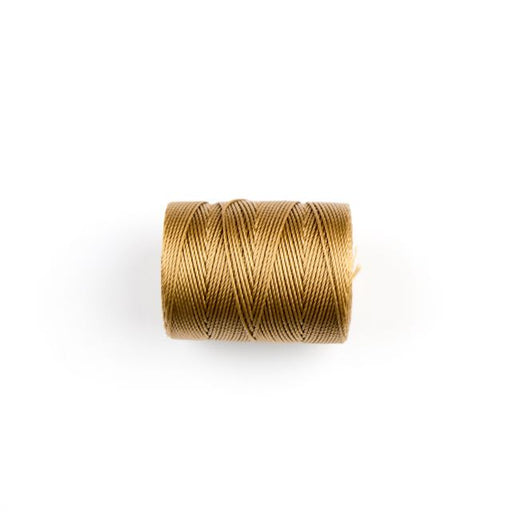 84 meters (92 yards) - C-Lon Beading Cord Tex 210 - Dark Tan