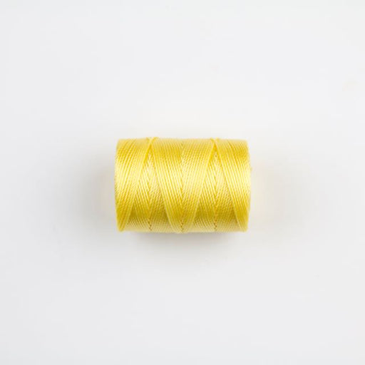 84 meters (92 yards) - C-Lon Beading Cord Tex 210 - Lemon