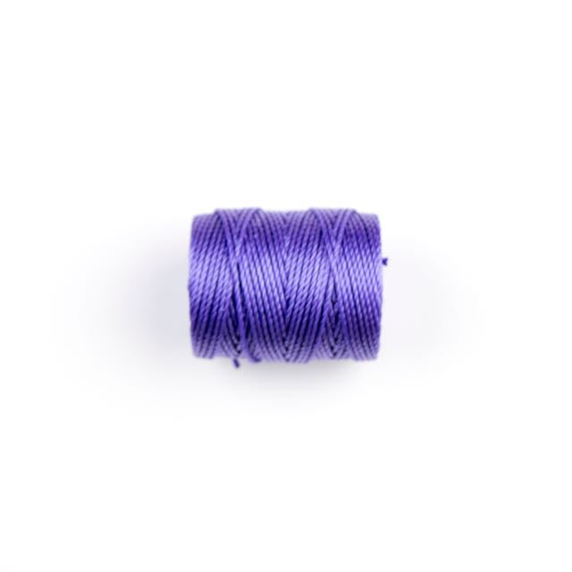 36 meters (39 yards) - C-Lon Heavy Weight Beading Cord Tex 400 - Amethyst