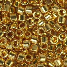 11/0 Miyuki DELICA Beads - 24kt Gold Plated