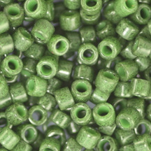 11/0 Miyuki DELICA Beads - Dyed Opaque Forest Green