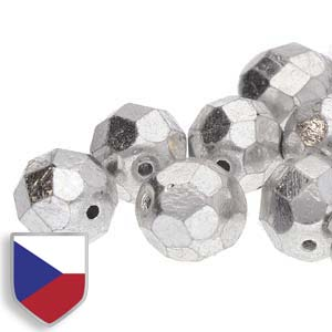 4mm FIRE POLISHED Bead (Czech Shield) - Crystal Full Labrador***