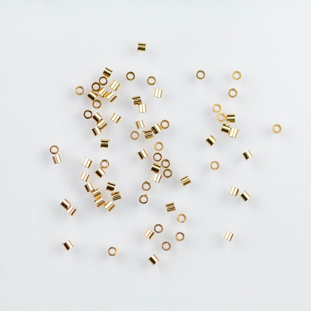 Gold Filled 1mm x 1mm Crimp Bead