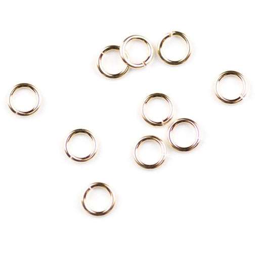 Gold Filled 22ga. .025/4mm OD Jump Ring  - Open