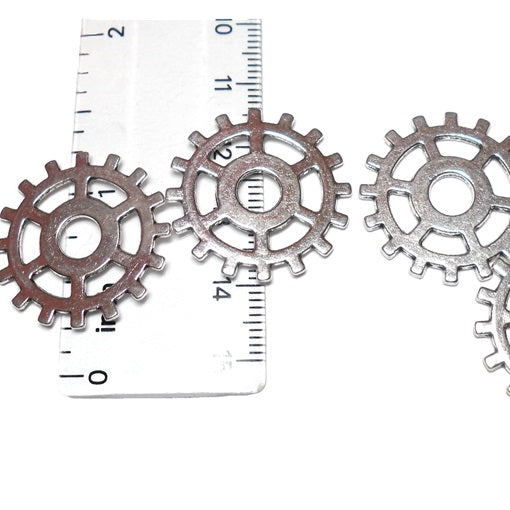 Spiked Wheel Gear - Platinum