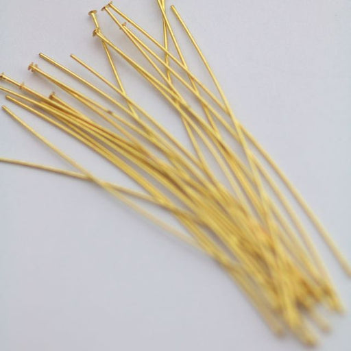 2 in. .020/.5mm/24ga. Head Pin - Gold