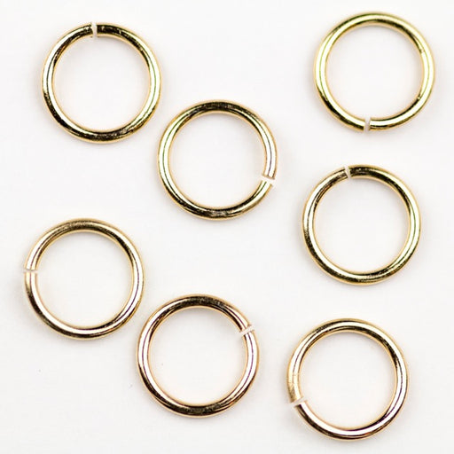 12mm 15 gauge Jump Ring - Gold