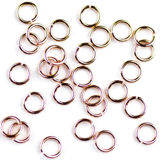 4mm 21 gauge Jump Ring - Rose Gold