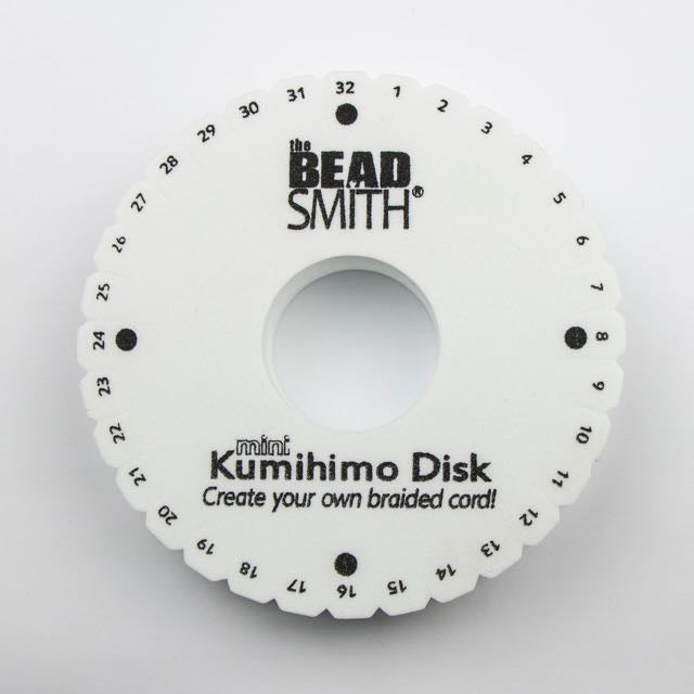 Thick 4.25 Inch Kumihimo Disk with 35mm Hole