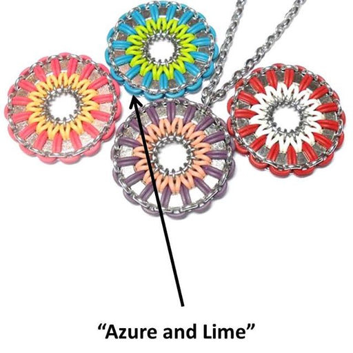 HyperLynks Daisy Medallion Kit - Azure and Lime