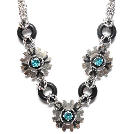 HyperLynks Glam Punk Necklace Kit (Light Turquoise Swarovski® Montees)