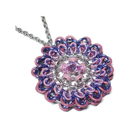 HyperLynks In Full Bloom Pendant Kit - Purple
