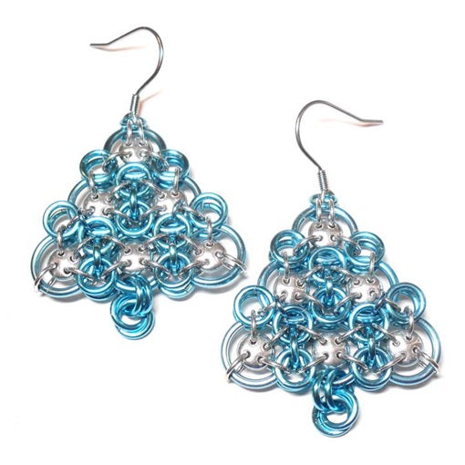HyperLynks Lattice Tree Earrings Kit - Silver Bells (Advanced Level)***