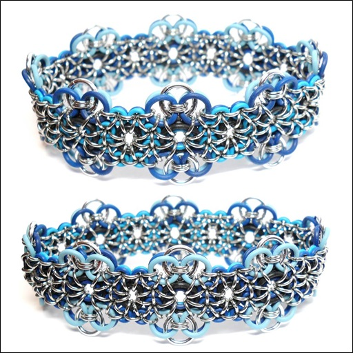 HyperLynks Royale Cuff Kit - Blueberry (Light Blue, Azure, and Dark Blue)