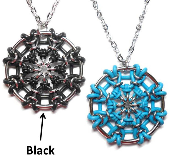 HyperLynks The Web Pendant - Black