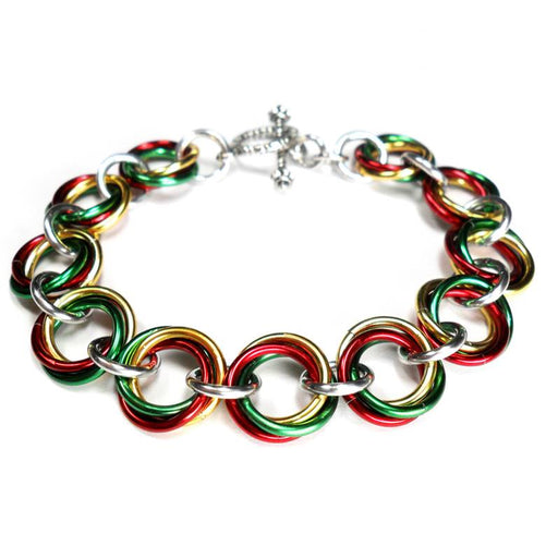 HyperLynks Festive Mobius Knot Bracelet Kit (Beginner Level)