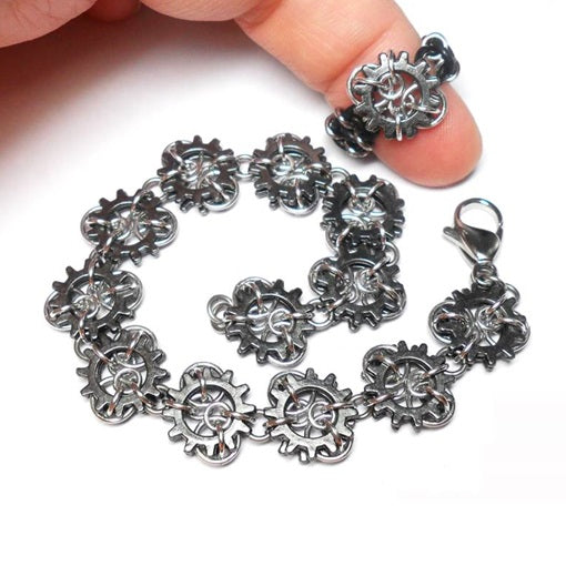 HyperLynks Micro Cogs Bracelet and Ring Kit