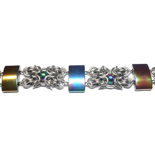 HyperLynks Baroque Bars Kit (Rainbow Hematite)