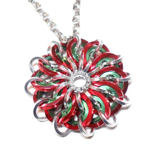 HyperLynks Solar Flare Pendant Kit - Candy Cane (Intermediate Level)