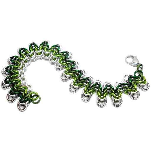 HyperLynks Wavelength Bracelet Kit - Greens