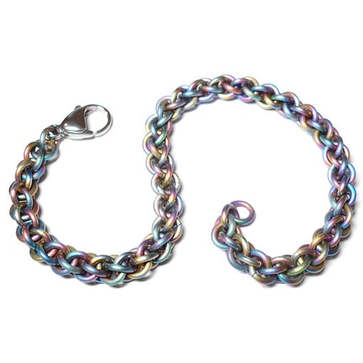 HyperLynks Titanium JPL Bracelet Kit - Rainbow Titanium (Advanced Level)