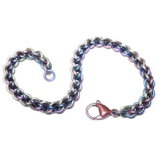 HyperLynks Titanium JPL Bracelet Kit - 3 Tones of Titanium (Advanced Level)