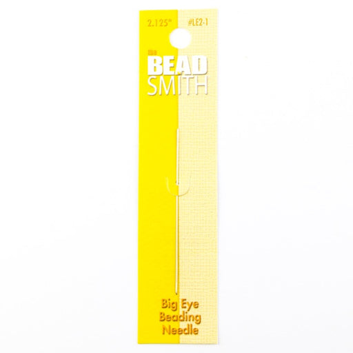 2.125in Big Eye Beading Needle