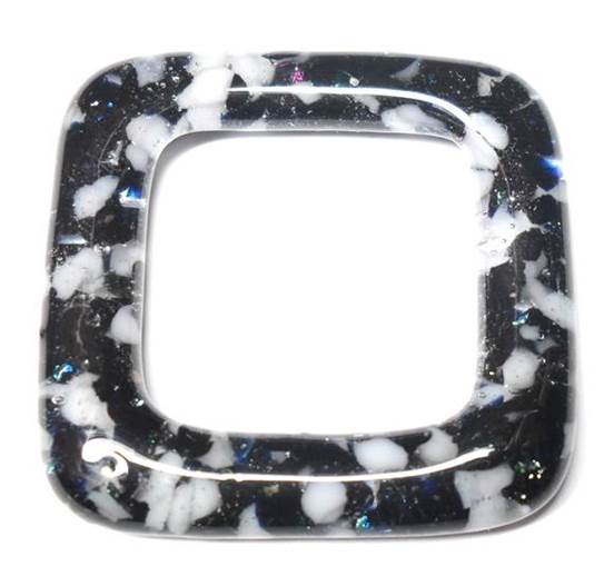 LovelyLynks Large (34mm x 34mm) Glass Squares - Twilight