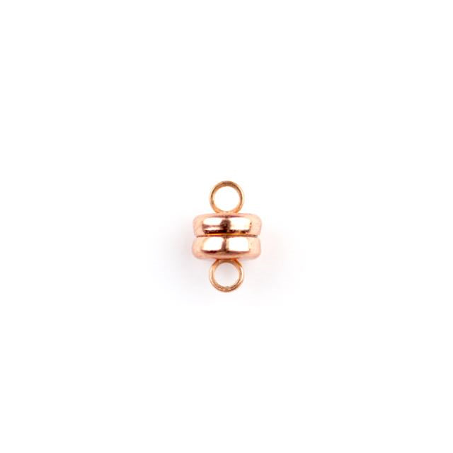 6.0mm Magnetic Clasp - Copper Plate