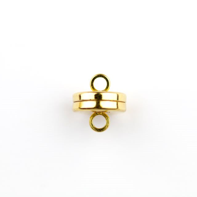 10.0mm Magnetic Clasp - Gold Plate