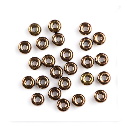 2/0 Matubo Czech Glass Bead - Jet Bronze