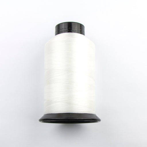 1448 meters (1584 yards) Size D Nymo Beading Thread Cone - White