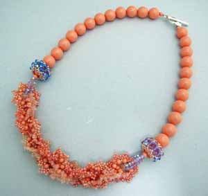 Coralline, Necklace