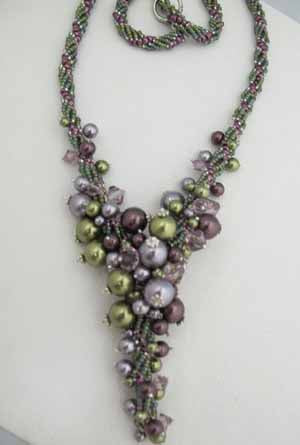 Trailing Pearls, Necklace